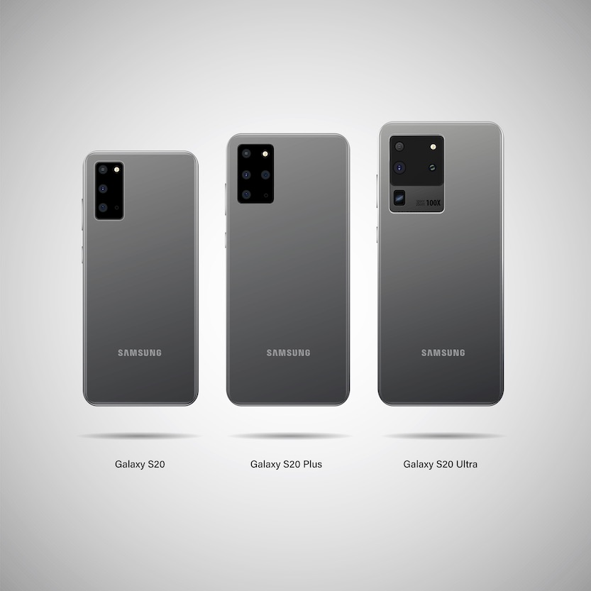 Samsung Galaxy S20, S20 Plus and S20 Ultra
